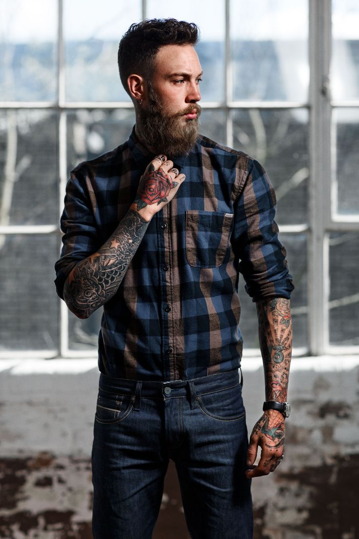 Slim Fit Flannel Shirts For Men