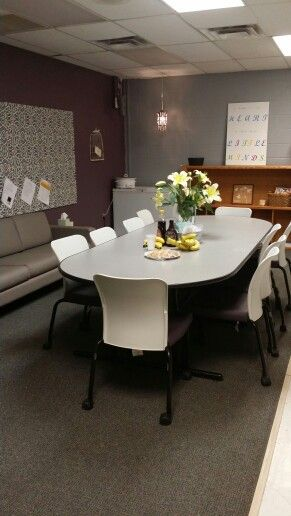 Teacher lounge makeover