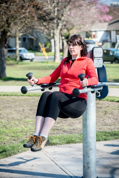 Spring is here! Why not try an outdoor fitness circuit?