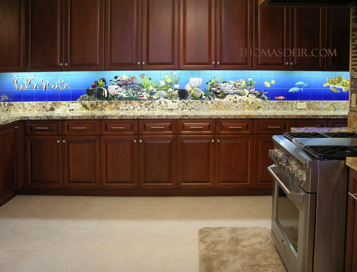 1000 images about kitchen aquarium on pinterest - Fish tank dining room table ...