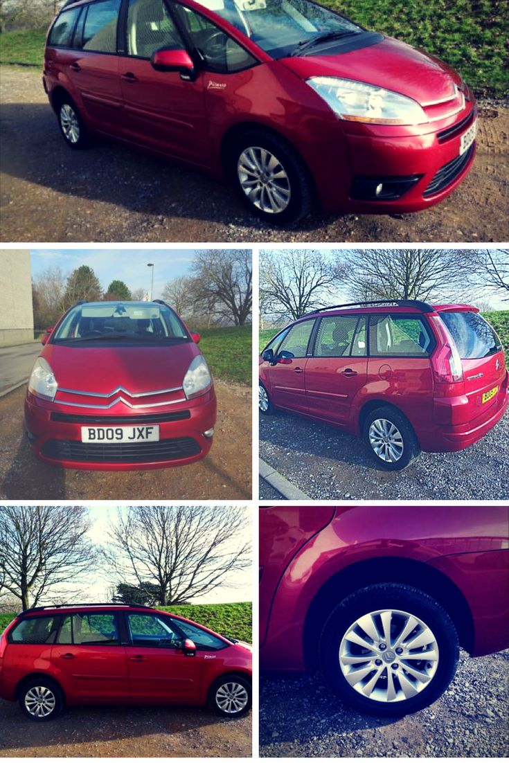 2009 09 CITROEN C4 PICASSO 1.6 GRAND VTR PLUS HDI 5d 107 BHP