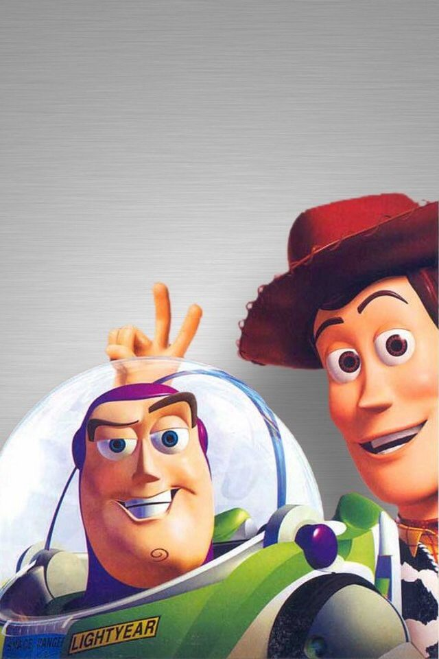 Toy story buzz lightyear woody iphone wallpaper