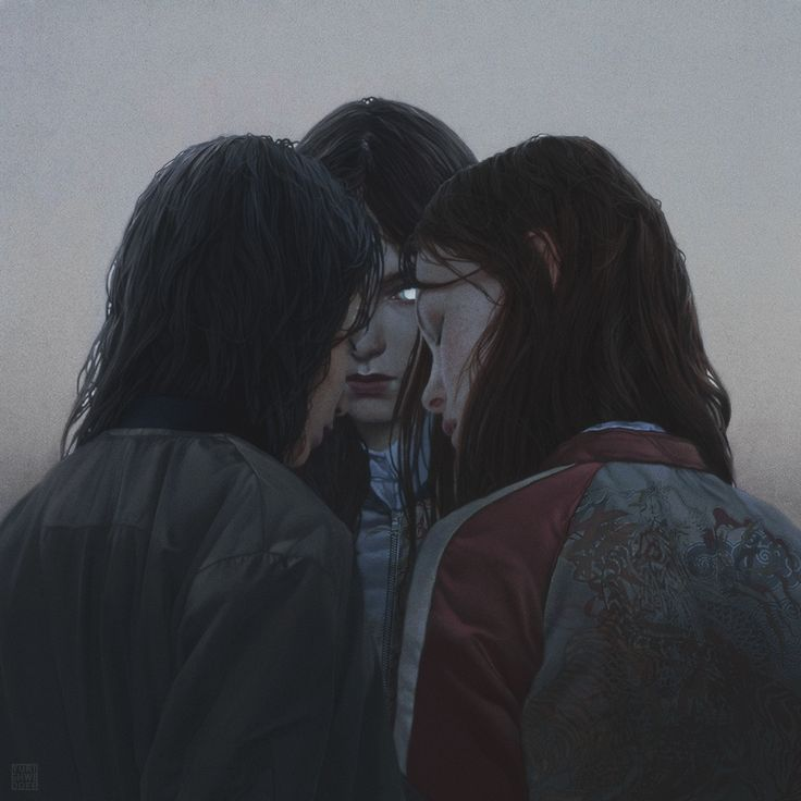 """Graeae"" Digital Paintinghttp://www.yurishwedoff.gallery#Art #DigitalArt #Illustration"