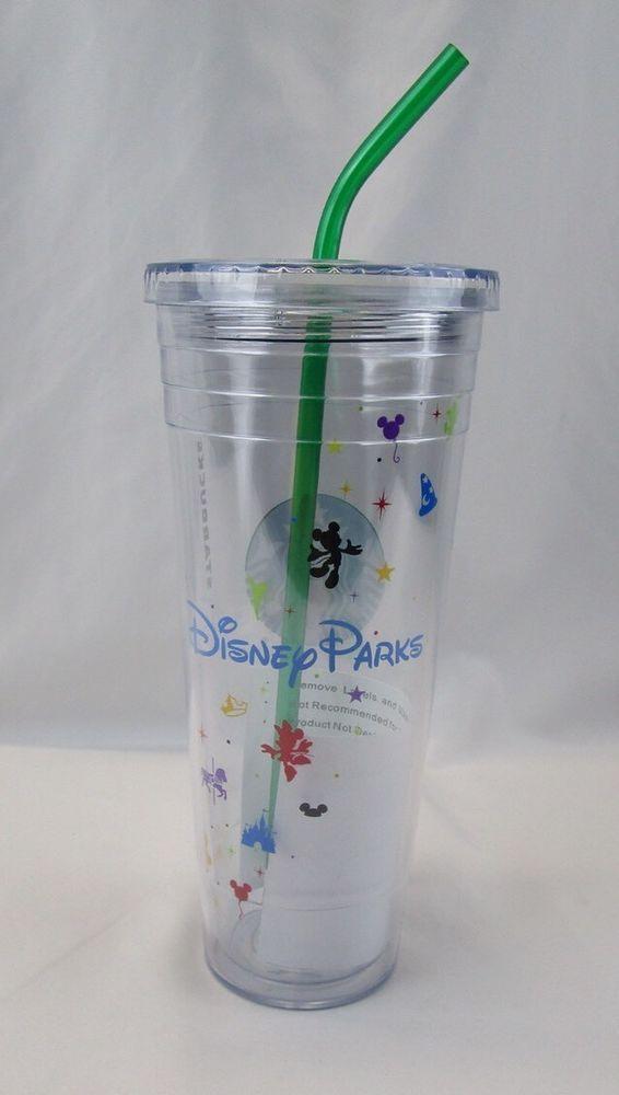 69aa083336e Disney Parks Starbucks Cold Cup Venti 24 oz Acrylic Tumbler with ...