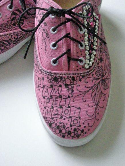 Zentangle: Pink Shoes