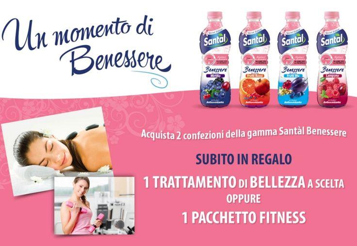 Un momento di benessere Santàl: trattamenti #bellezza o #fitness #omaggio