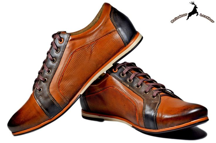 Bruno Athletic Leather Sneakers