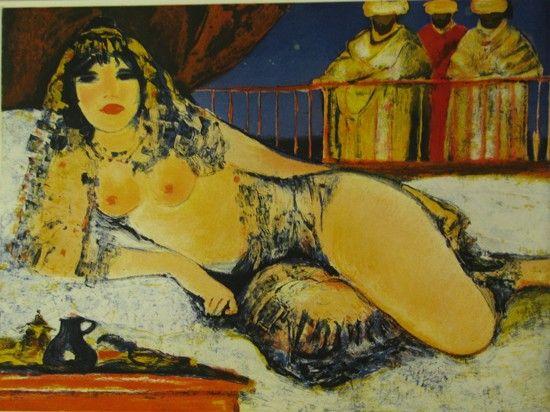 L'ora del thè, Salvatore Fiume, http://www.galleria-galp.it/shop/index.php/artisti/salvatore-fiume/l-ora-del-the.html