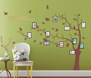 Huge Birds Vine Tree Photo Frame Wall Stickers art Mural Children Kids Wallpaper: Amazon.co.uk: Kitchen & Home