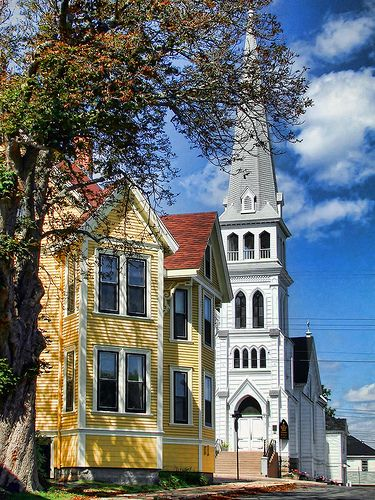 lunenburg. nova scotia. canada. love the history and the beautiful homes