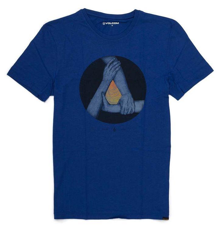 T-Shirt Volcom TRIAD LIGHTWEIGHT | MATURED BLUE Matured Blue