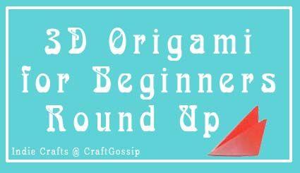 3D Modular Origami Tutorials for Beginners