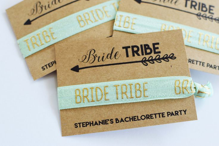 Bachelorette Party Favors//Bride Tribe Hair Ties//Bride Tribe Bachelorette//Elastic Hair Tie//Creaseless Hair Tie by MelissaLynneDesign on Etsy https://www.etsy.com/nz/listing/477313827/bachelorette-party-favorsbride-tribe