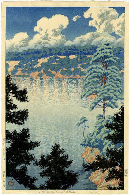 Karasu Marsh, Kawase Haui, 1927