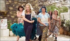 Mamma Mia. This movie just makes me laugh.