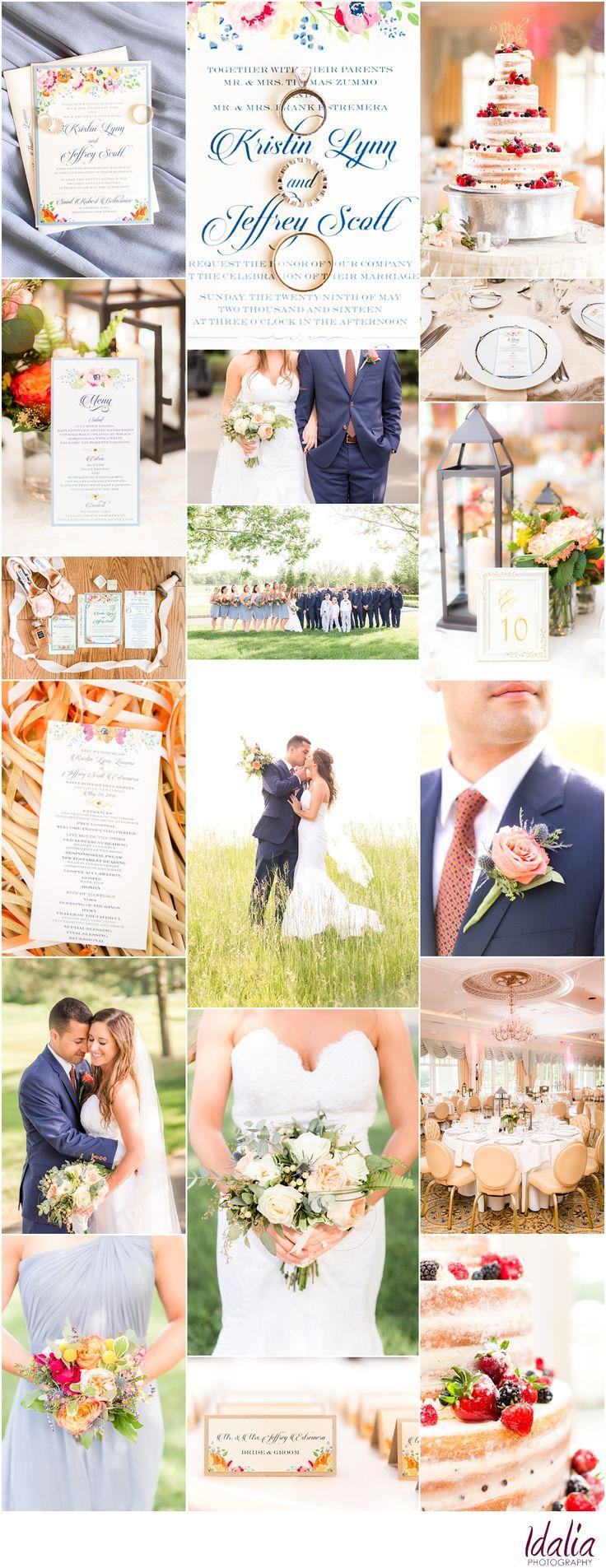 Eagle Oaks Country Club Wedding Photos in Farmingdale, NJ | Photos by NJ Wedding Photographers Idalia Photography