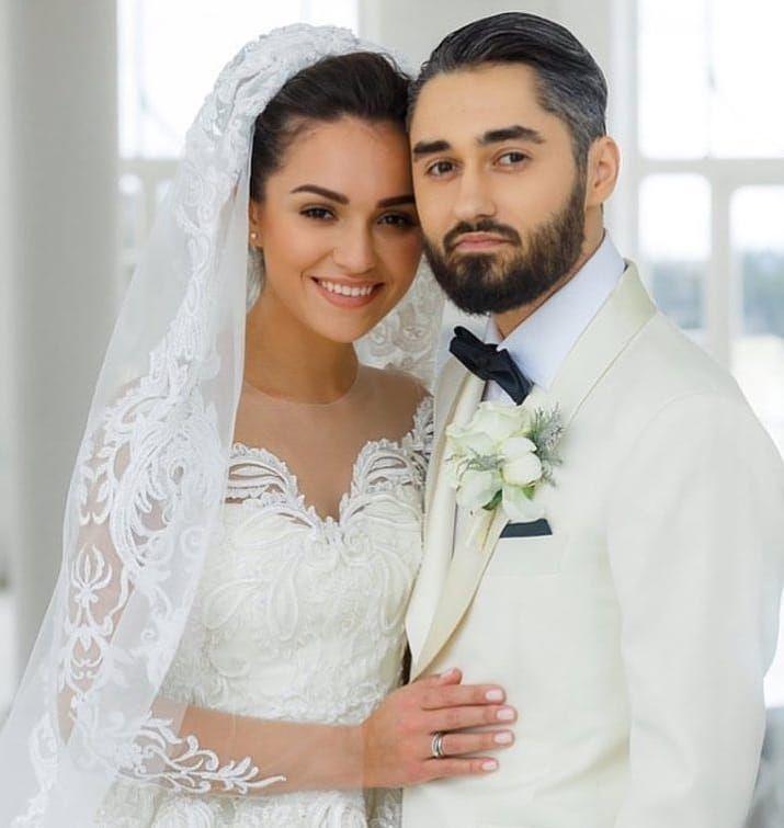 свадьба певца мота платье невесты фото осталось только сделать
