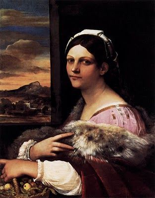 Sebastiano del Piombo. Dorothea (La veneziana). 1512-1513.