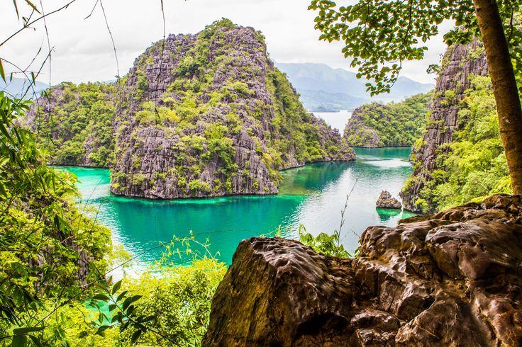 Kayangan Lake. Coron. Philippines