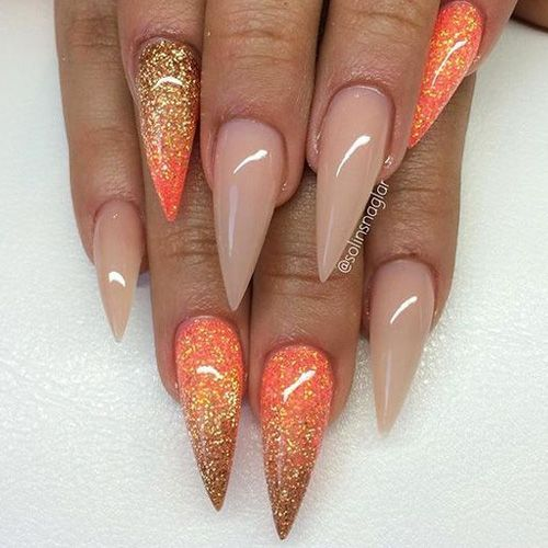Best 25+ Stiletto nail designs ideas on Pinterest