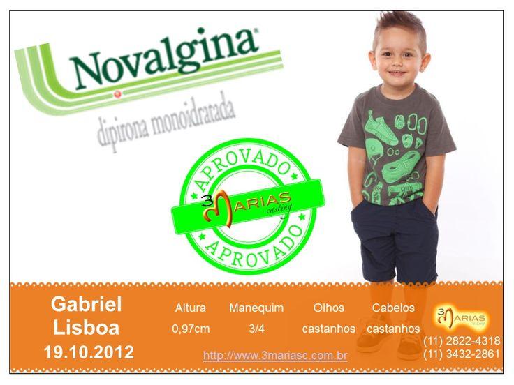 Gabriel Lisboa para Novalgina.