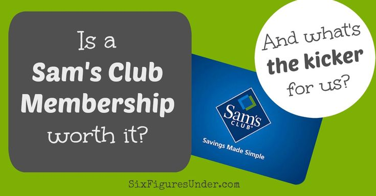 Is a Sam's Club Membership worth it? It is for us. Find out what we buy and why a Sam's Club is worth it for us. Our main reason might surprise you!