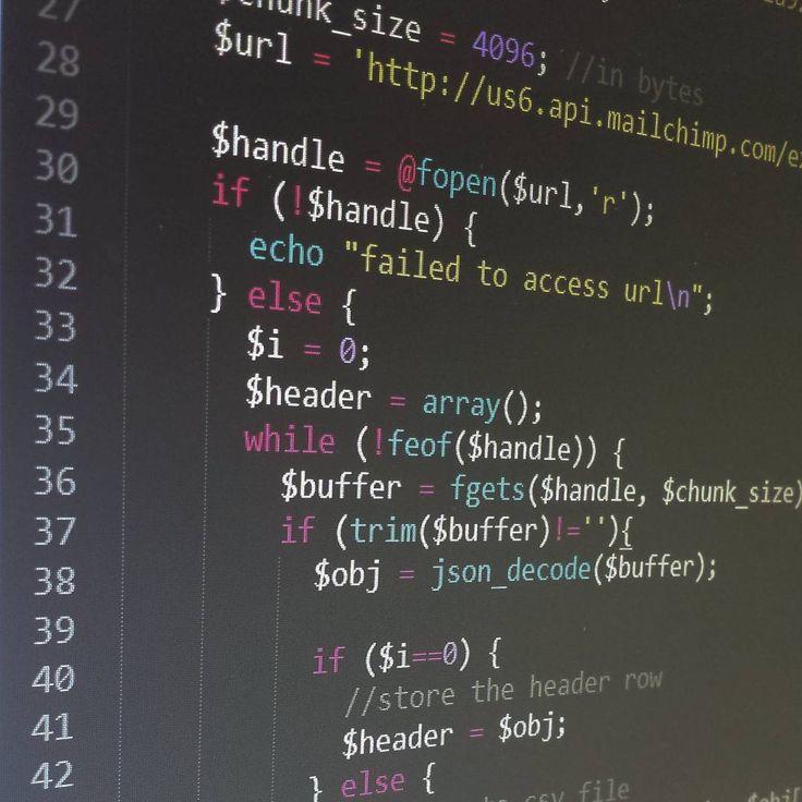 Backup automation script to backup mailing lists using cron PHP and the MailChimp export api #php #mailchimp # api #applicationprogrammersinterface #marketing #automation #linux #cron #web #webdeveloper #webdev #webdevelopment #applicationdevelopment #webapplication #tech #technology #coding #code #programming #buildtheweb #worldofprogrammers #worldcode #json #javascript