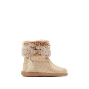Boots cuir zippées 19-25 La Redoute Collections - Chaussures   ALICE ... a1f683d9ab7