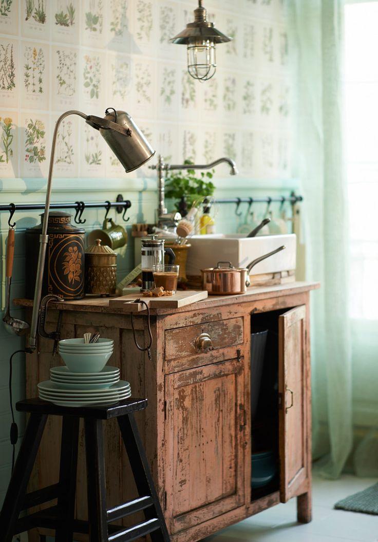 Här är detaljerna till ditt sommarkök - #Skönahem #oddbirds skärbräda kök #kitchen