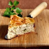 Amateur Cook Professional Eater - Greek recipes cooked again and again: Country style chicken pie