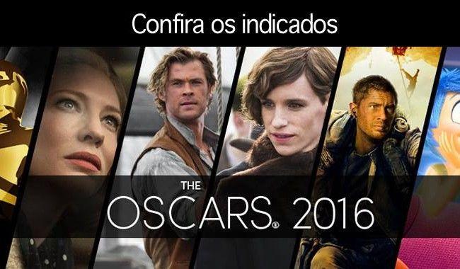 Dr Prof Cleiton Cesar Schaefer: Indicados ao Oscar 2016