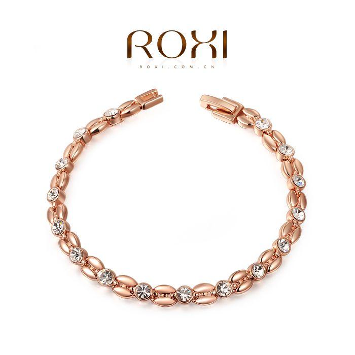 Roxi  goud verguld met Austrian kristal armband