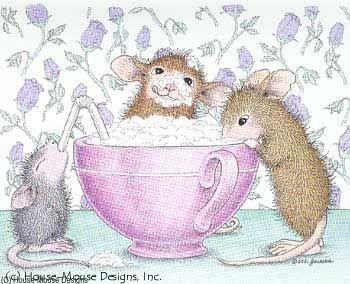 """""""Mudpie, Maxwell, Monica and Amanda"""" from House-Mouse Designs®"""