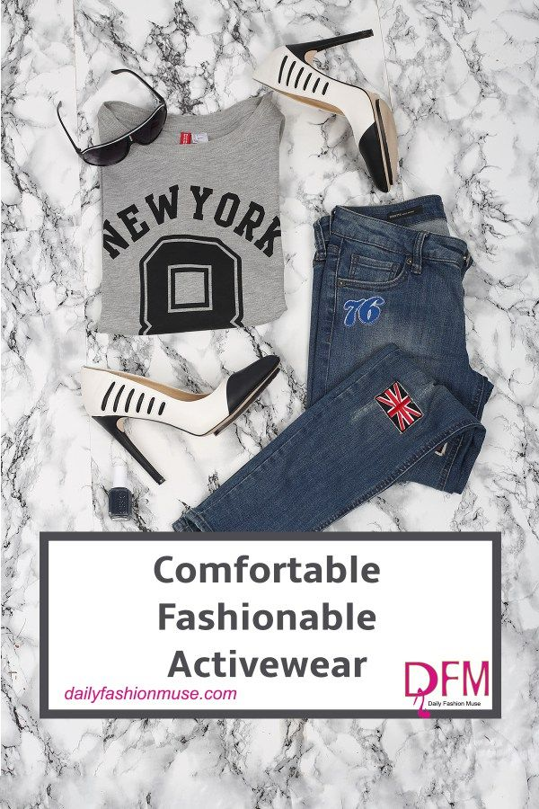Comfortable fashionable activewear you screamed. I hear you and as much as it pains me I am willing to meet you halfway. Click for activewear outfit ideas.