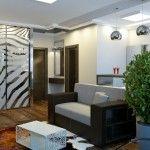Маленькие квартиры: дизайн интерьера квартиры студии 25 кв.метров