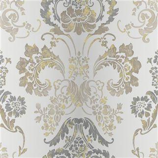 Designers Guild - Wallpaper - Kashgar Steel