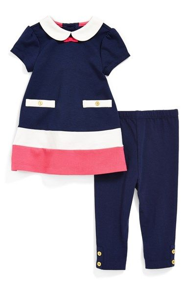 This dress and leggings set is just too adorable!