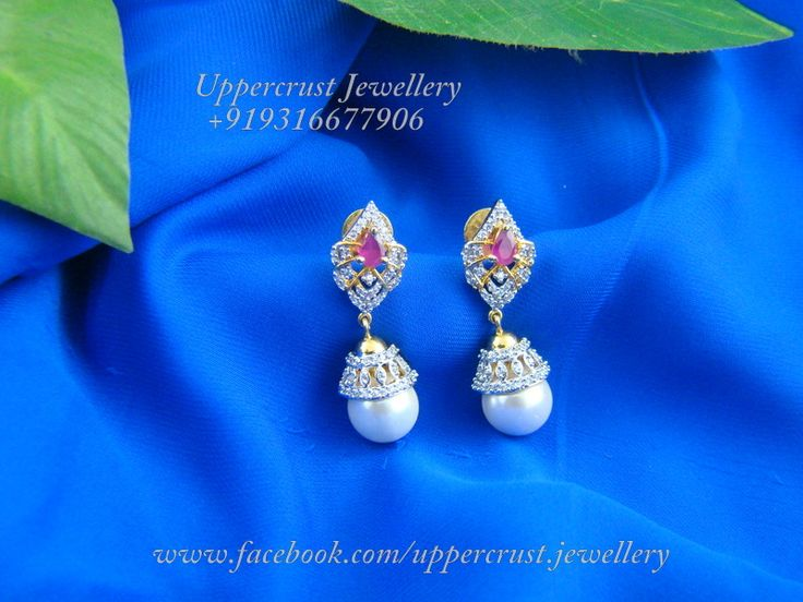 Simple, sophisticated and elegant, this jhumka speaks for itself, club them with ur favourite indian wear or just wear them with your indo-western dresses, and see how they blend in perfectly...available at www.facebook.com/uppercrust.jewellery