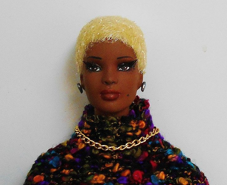 Esme Tonner Doll Tyler Wentworth Repaint Restyle Gorgeous African American #Tonner