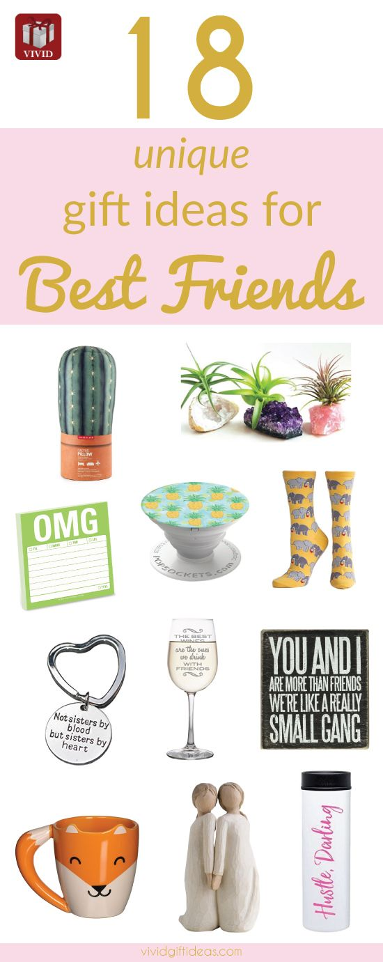 Sentimental Gifts For Friends. Best Friend Gifts (National Best Friend Day ideas)