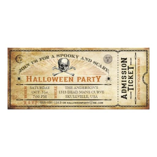 halloween party invites tesco