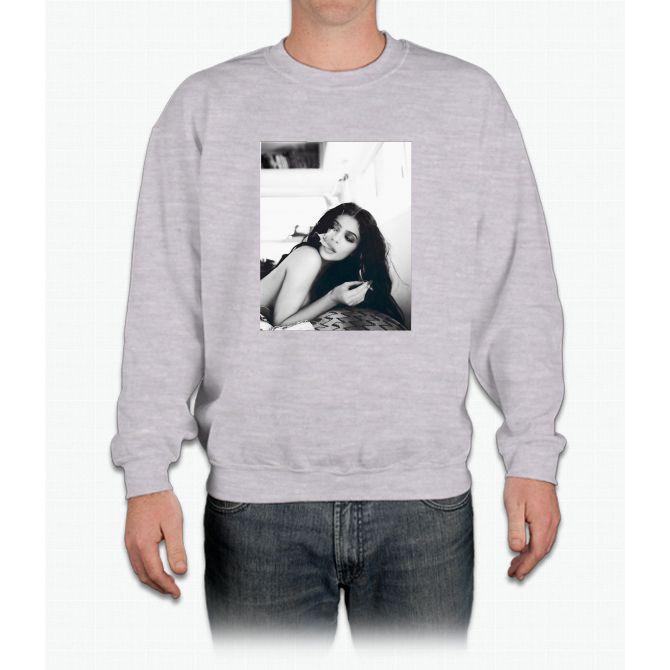Kylie Jenner Smoking Crewneck Sweatshirt