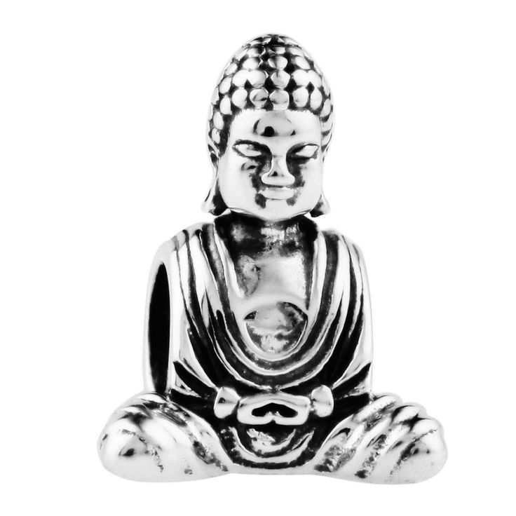 TTH Antique Solid Sterling 925 Silver Charms Beads [The Buddha] Fit European Bracelets Necklaces: TAOTAOHAS: Amazon.co.uk: Jewellery
