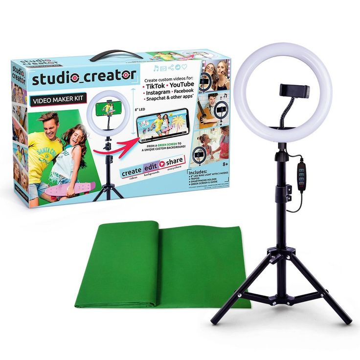 Studio Creator Video Maker Kit Canal Toys Greenscreen Video Maker Instagram And Snapchat