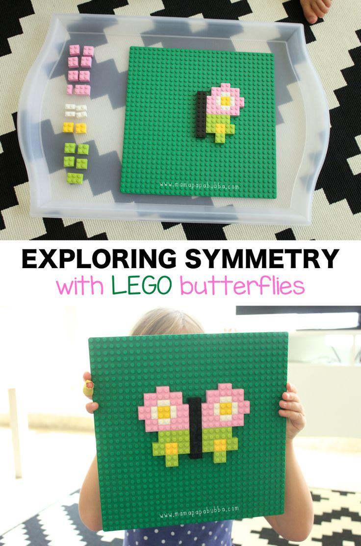 Exploring Symmetry With LEGO Butterflies | Mama.Papa.Bubba.