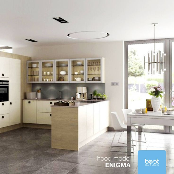 Choć niewidzialna, wygląda tak pięknie, tak kusząco, tak idealnie! #Enigma to montowany w suficie #okap, który doda stylu Państwa kuchni. Zdalne sterowanie umożliwia kontrolę wszystkich jego funkcji, aby łatwo wyeliminować opary i brzydkie zapachy.  #besthoods #design #sufit #dom  Foto: Best