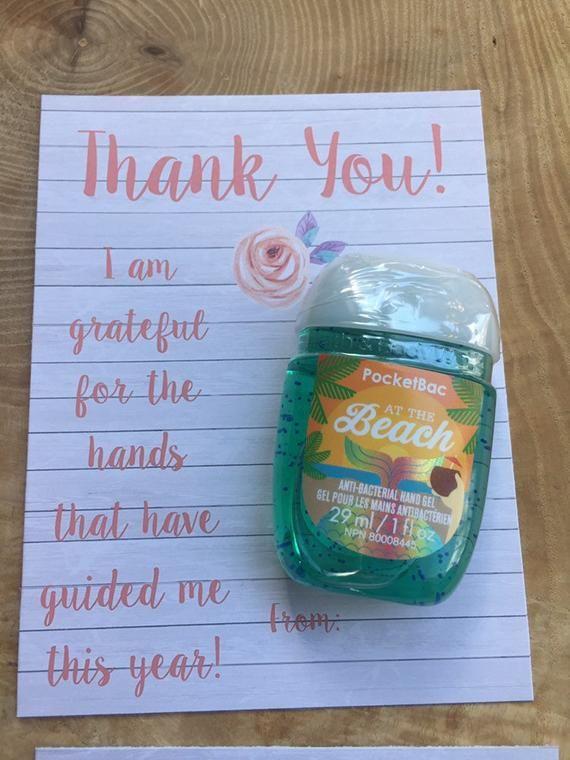Teacher Bus Driver Coach End Of Year Gift Appreciation Thank