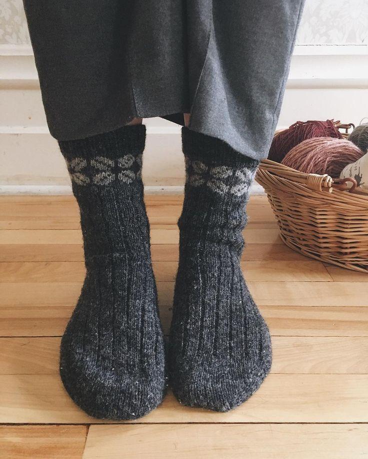lucky me socks by leighsideknits