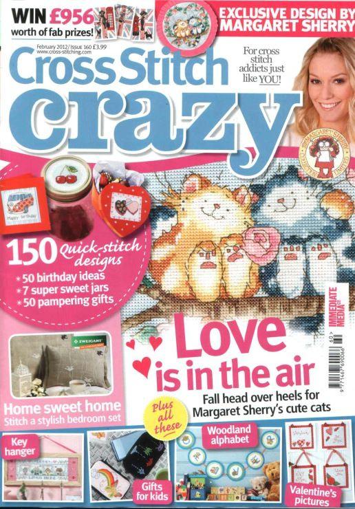 Gallery.ru / Фото #1 - Cross Stitch Crazy 160 февраль 2012 + приложение Free birthd - tymannost