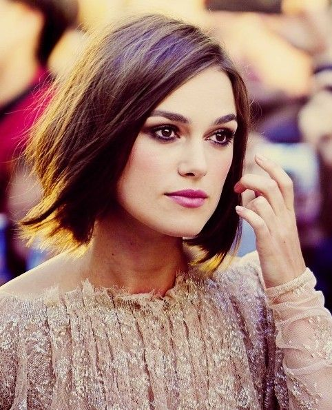 Trendy Blunt Bob Haircut for 2014 Love her hair and love her as an actress